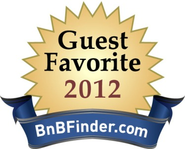 Casa Grandview Earns 2012 Guest Favorite Award